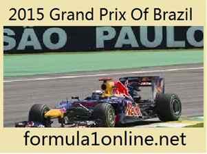 Watch 2015 Grand Prix Of Brazil Live Coverage