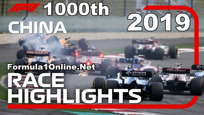 F1 Highlights 2019 Chinese Grand Prix Race Day