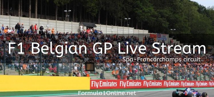 Watch The F1 Belgian GP Live Stream TV Broadcasters