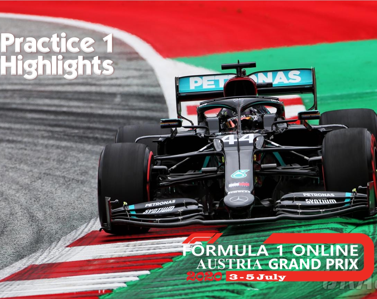 Practice 1 Formula 1 Austrian GP 2020 Highlights