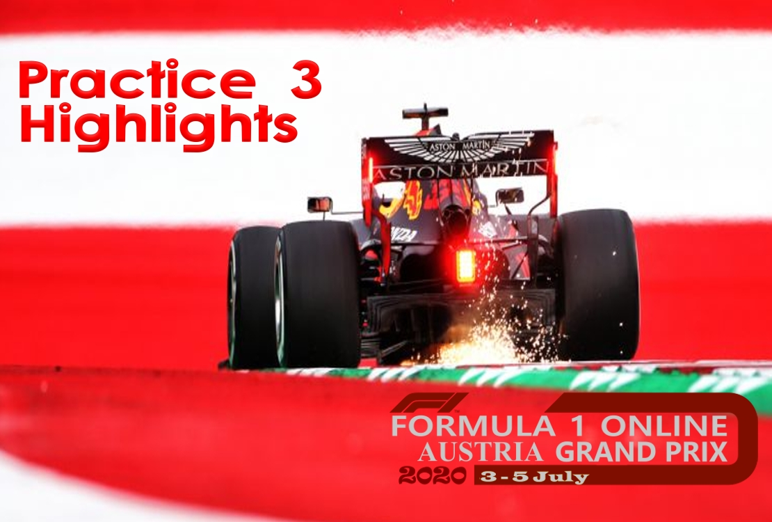 Practice 3 Formula 1 Austrian GP 2020 Highlights