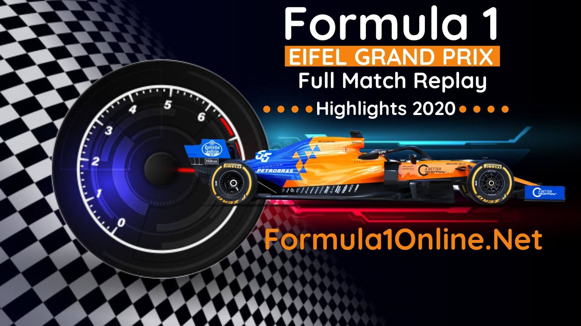 Eifel 2020 GP F1 Highlights Full Race Replay