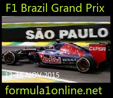 Live F1 Brazil Grand Prix Streaming