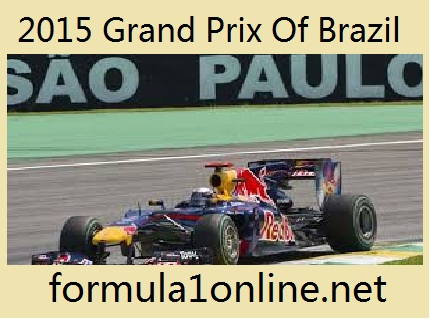 Watch 2015 Grand Prix Of Brazil Live Coverage