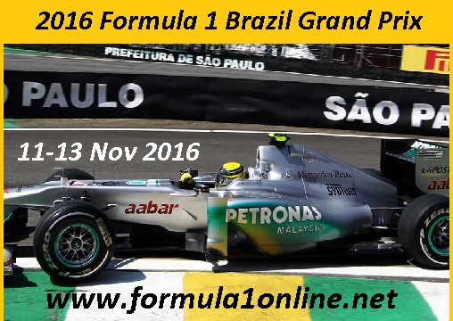 Brazilian F1 Grand Prix stream