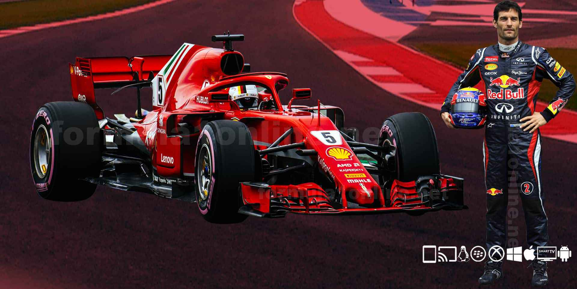 Watch Formula 1 Online 2019 | F1 Live Streaming | F1 Full Race | Highlights slider